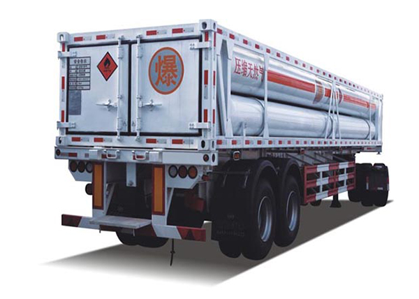 CNG tube bundle container